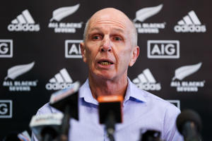 All Blacks Sevens coach Sir Gordon Tietjens