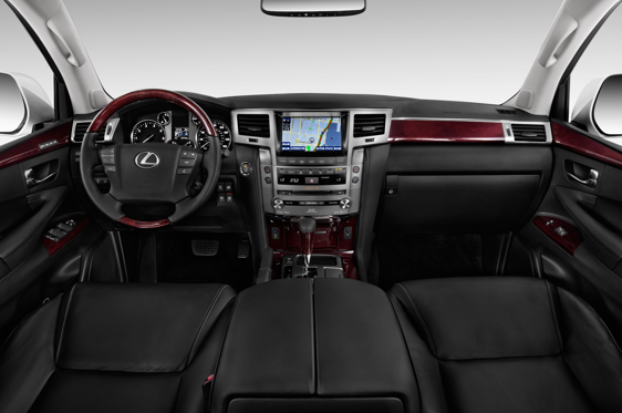 Slide 1 of 11: 2014 Lexus LX