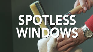 Spring Cleaning Tip #10: Get Spotless Windows