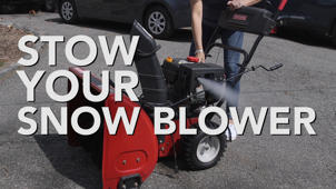 Spring Cleaning Tip #7: Stow Your Snow Blower!