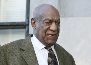 Bill Cosby arrives for a court appearance in Norristown, Pa.