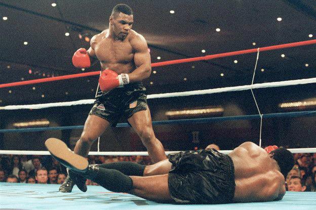 Tyson fue la gran sensación del boxeo a finales de los años 80 y principios de los 90.