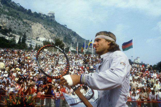 Bjorn Borg fue una de las primeras grandes figuras comerciales del tenis.