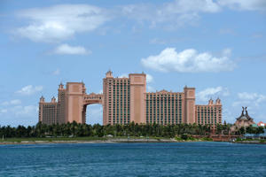 Nassau, Bahamas; General view of the Atlantis Paradise Island Resort