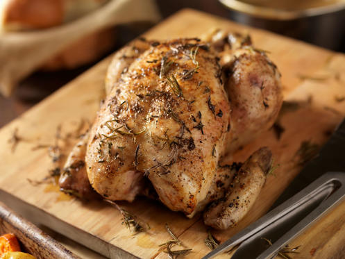 Diapositiva 4 de 50: Roasted Chicken with Fresh Thyme Lauri Patterson