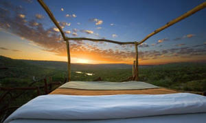 <p>Star Bed, Loisaba Conservancy.</p>