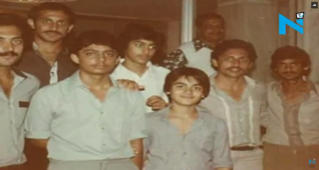Can you recognise Salman Khan in this vintage photo?