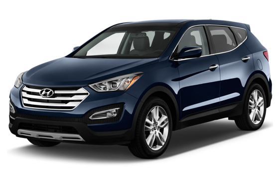Slide 1 of 14: 2014 Hyundai Santa Fe