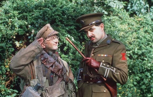 Slide 1 of 29: 'Blackadder' Stars: Where are they now
