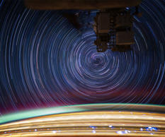 Star Trails from the Space Station