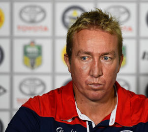 'You have to blood some of these guys and you have to wear what is going to happen' - Trent Robinson