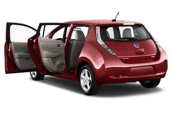 Slide 1 of 24: 2015 Nissan LEAF