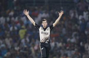 New Zealand's Mitchell Santner