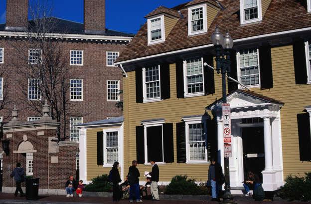 Wadsworth House at Harvard University, Cambridge, Mass.
