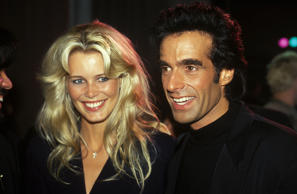 David Copperfield and Claudia Schiffer