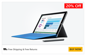 Buy Surface Pro 3 now