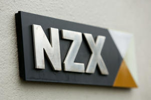 NZ shares fall from record high
