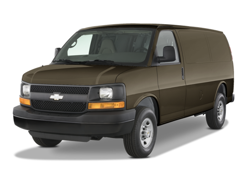 Slide 1 of 18: 2014 Chevrolet Express Cargo