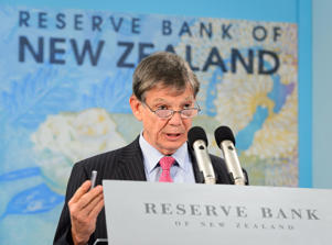 Graeme Wheeler, governor of the Reserve Bank of New Zealand