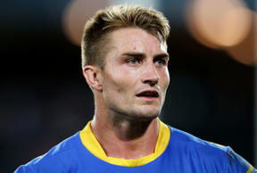 Kieran Foran of the Eels looks on during the round three NRL match between the Canterbury Bulldogs and the Parramatta Eels at ANZ Stadium on March 18, 2016 in Sydney, Australia