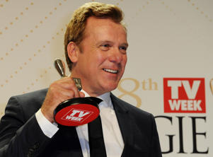 Erik Thomson bagged his second ever Logie, more than a decade after he won his first.