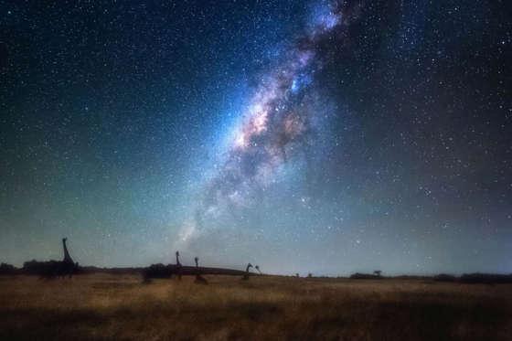 Asombrosas imágenes de la Vía Láctea BBsR86z