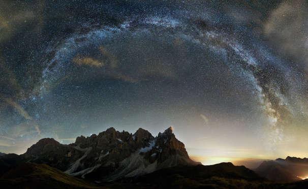 Asombrosas imágenes de la Vía Láctea BBsRay5