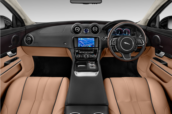 Slide 1 of 11: 2015 Jaguar XJ