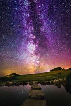 Asombrosas imágenes de la Vía Láctea BBsRt6k