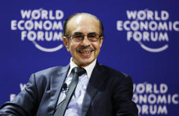 File: Adi Godrej, Chairman of the Godrej Group, an Indian business conglomerate, speaks during a session at the World Economic Forum on East Asia in Jakarta, Indonesia, Tuesday, April 21, 2015.