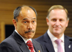 A file image of Governor-General Jerry Mateparae with Prime Minister John Key.