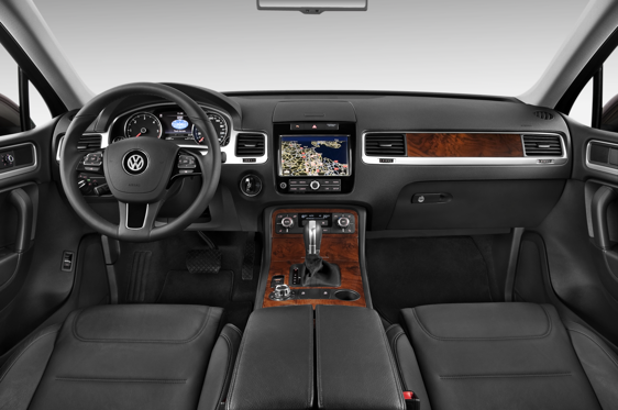 Slide 1 of 11: 2014 Volkswagen Touareg