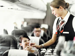 A hostess working for a French airline said that when passengers ask for a coke ...
