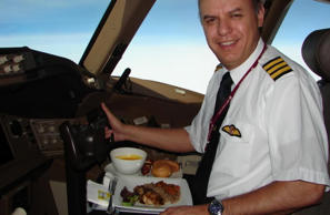 To ensure that both pilots don't fall ill at the same time, they eat different meals and are restricted from sharing. Rest assured, there'll always be one around to land the plane safely.