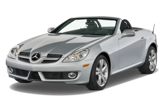 Slide 1 of 14: 2010 Mercedes-Benz SLK-Class