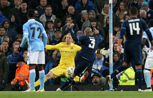 Joe Hart made a crucial save from Pepe late on to ensure Manchester City avoided defeat against Real Madrid on Tuesday night