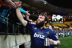 Liam Coltman of the Highlanders