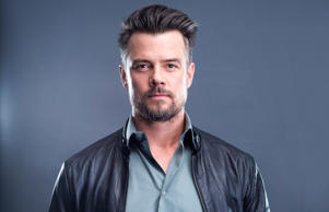 Actor Josh Duhamel poses for a portrait on Wednesday, Jan. 27, 2016, in New York. He lives in Los Angeles now, but Duhamel is helping to boost tourism for his home state of North Dakota by appearing in a series of funny ads this year. (Photo by Scott Gries/Invision/AP)