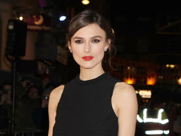 "FILE - In this Jan. 20, 2014 file photo, actress Keira Knightley attends the European Premiere of ""Jack Ryan: Shadow Recruit,"" in London. Roundabout Theatre Company said ""a minor injury"" to Knightley has forced the Wednesday, Oct. 6, 2015, show ""Therese Raquin,"" to be canceled. The theater company expects her to be ready for Thursday night's show. (Photo by Jon Furniss Photography/Invision/AP, File)"