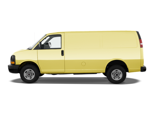 Slide 1 of 21: 2014 GMC Savana Cargo