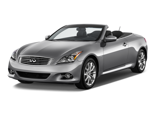 Slide 1 of 10: 2014 Infiniti Q60 Convertible