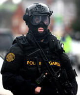 File photo of armed Gardai from the forces Emergency Response Unit