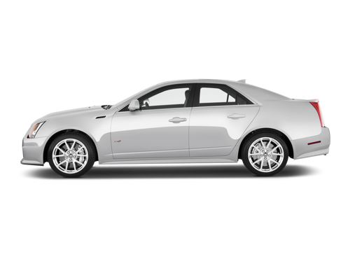 Slide 1 of 17: 2013 Cadillac CTS-V Sport Sedan