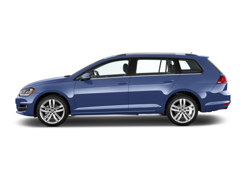 Slide 1 of 14: 2015 Volkswagen Golf SportWagen