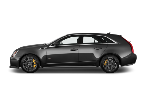 Slide 1 of 13: 2014 Cadillac CTS-V Sport Wagon