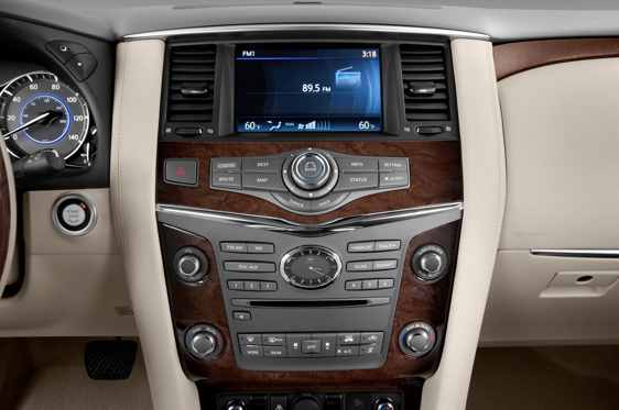 Slide 1 of 25: 2014 Infiniti QX80