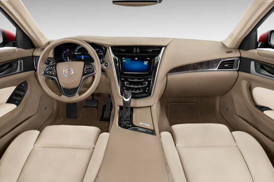 Slide 1 of 11: 2014 Cadillac CTS Sedan