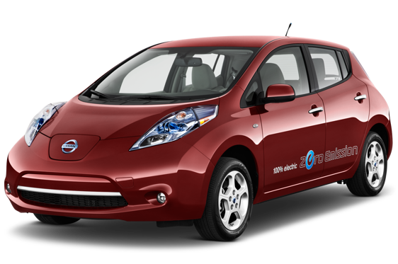 Slide 1 of 14: 2013 Nissan LEAF