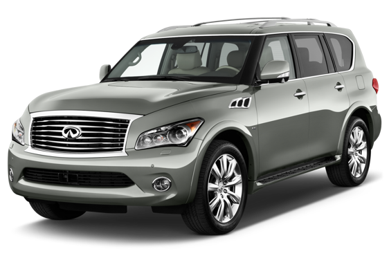 Slide 1 of 14: 2014 Infiniti QX80