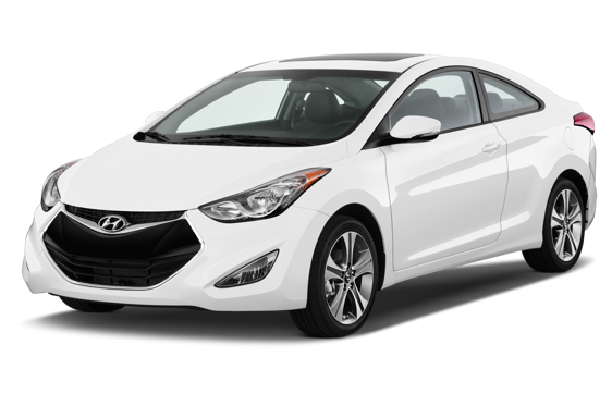 Slide 2 of 23: 2013 Hyundai Elantra Coupe